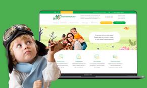 Сайт детской медклиники «До 16-ти»
