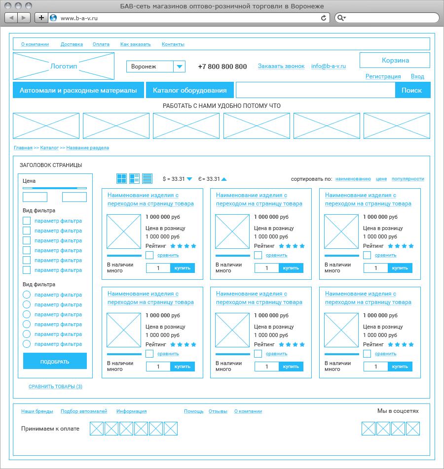 Проектирование сайта и создание прототипа создание сайта бартер