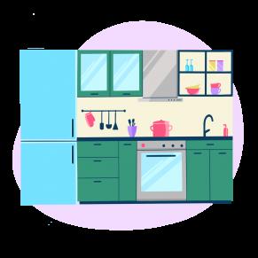 Контекстная реклама кухонь на заказ