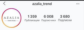 """SMM и таргетированная реклама в Instagram для магазина женской обуви """"AZALIA"""""""