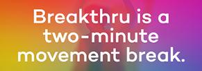 Breakthru: в поисках нестандартных решений