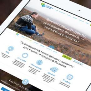 Разработка сайта для микрофинансовой компании