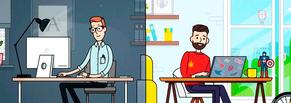 Анимационный ролик о валютных сделках для банка Точка