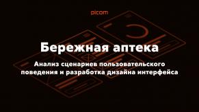 UX-исследование и разработка интерфейсов для «Бережной аптеки»