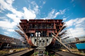 ОСК: корпоративный портал для крупнейшей судостроительной компании России