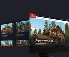 Успешный переезд: новый домен строителя деревянных домов