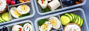 Настройка контекстной рекламы для службы доставки готовых рационов здорового питания в Москве